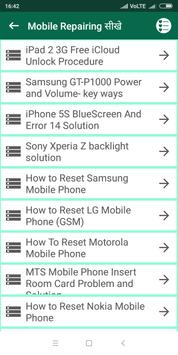 201+ Mobile Repairing सीखे (offline) for Android - APK