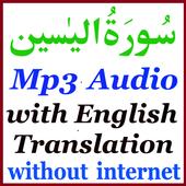 English Mp3 Basit Surah Yaseen icon