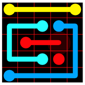Flow: dots connect icon