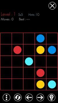 Flow: dots connect screenshot 1