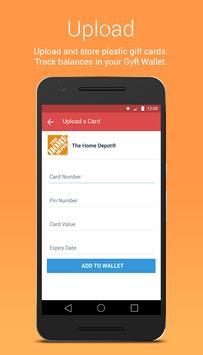 Gyft - Mobile Gift Card Wallet apk screenshot