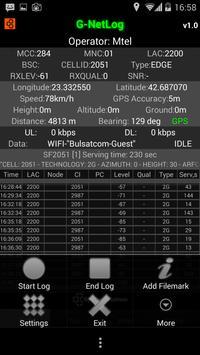 G-NetLog (trial version) screenshot 16