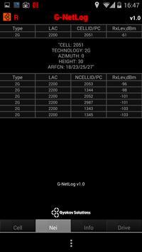 G-NetLog (trial version) apk screenshot
