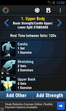 gymprovise workout tracker log for android apk download