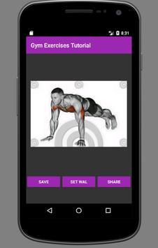 Gym Exercises Tutorial screenshot 8