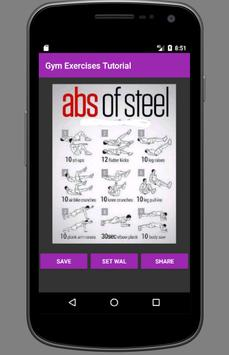 Gym Exercises Tutorial screenshot 2