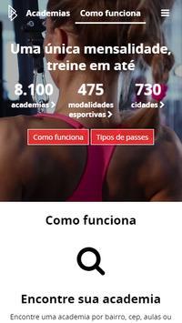 Gympass apk screenshot