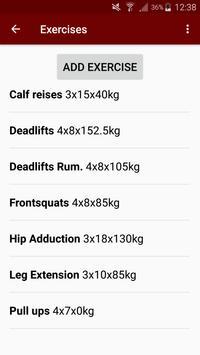 Simple Gym Recorder screenshot 1