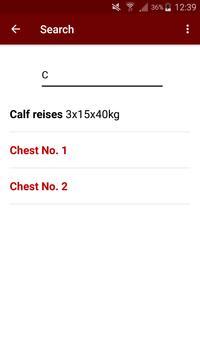 Simple Gym Recorder screenshot 2