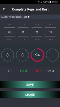 Gym Share - Shared Workout Log and Interval Timer apk screenshot