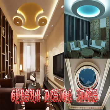 gypsum design ideas poster