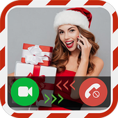 Video Call From Santa Prank icon