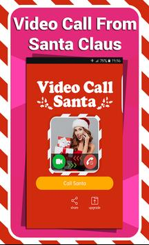 Video Call From Santa Prank poster