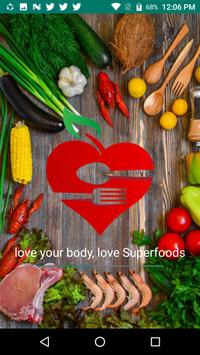 Superfoods - Healthy Diet Recipes poster