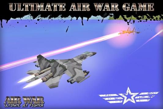 Air War: Ultimate Jet Fighter poster