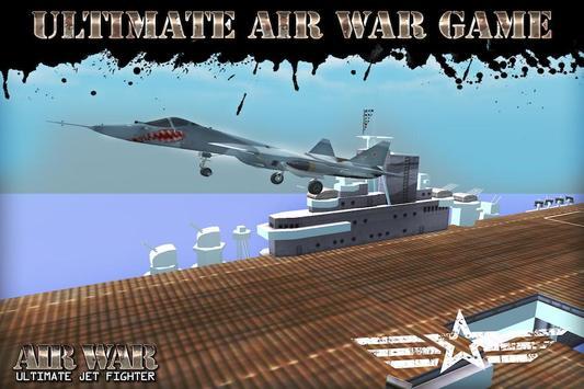 Air War: Ultimate Jet Fighter screenshot 1
