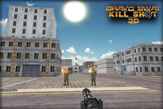 Bravo SWAT Kill Shot 3D Free screenshot 3