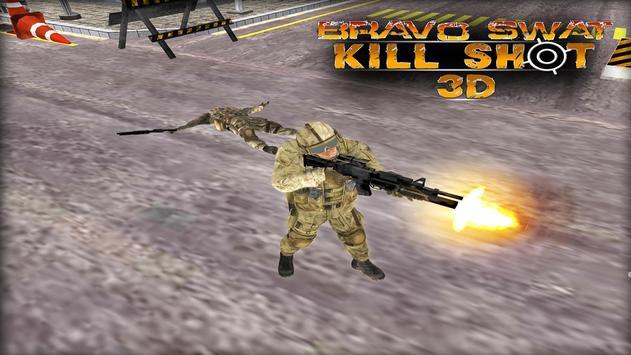Bravo SWAT Kill Shot 3D Free screenshot 10