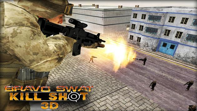Bravo SWAT Kill Shot 3D Free screenshot 12