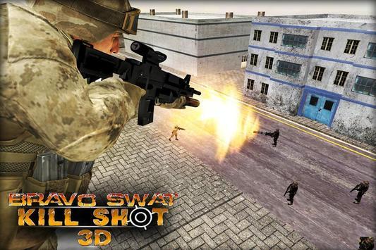 Bravo SWAT Kill Shot 3D Free screenshot 2