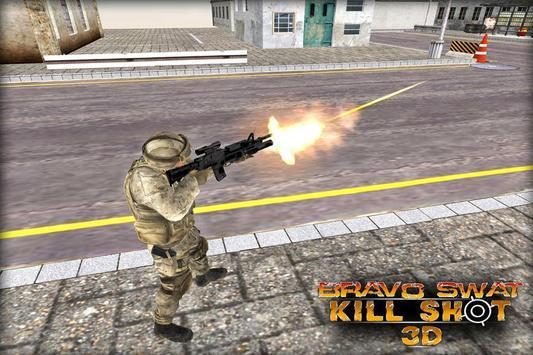Bravo SWAT Kill Shot 3D Free screenshot 4