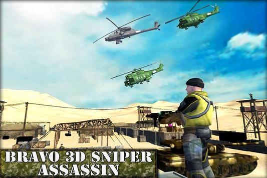 Bravo 3D Sniper Assassin poster