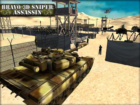 Bravo 3D Sniper Assassin apk screenshot