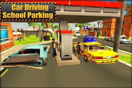 Car Driving School: Parking 3D poster