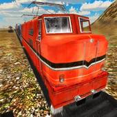 3D Cargo Train Game Free icon