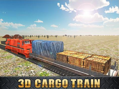 3D Cargo Train Game Free apk screenshot