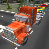 Car Transport Trailer 3D Free icon