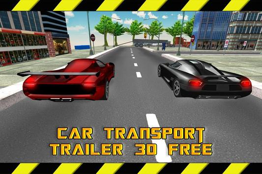 Car Transport Trailer 3D Free apk screenshot