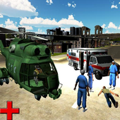 911 City Ambulance Rescue 3D icon