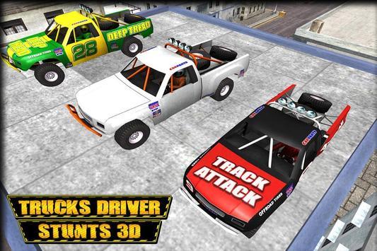 City Trucks Driver Stunts 3D apk screenshot