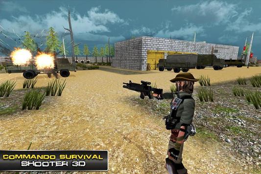 Commando Survival Shooter 3D screenshot 2
