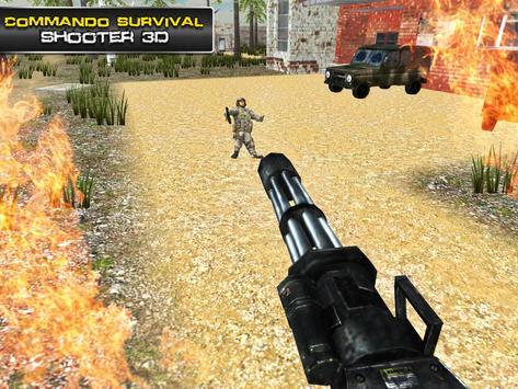 Commando Survival Shooter 3D screenshot 8