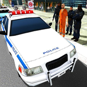 Cop Car Driver 3D Simulator icon