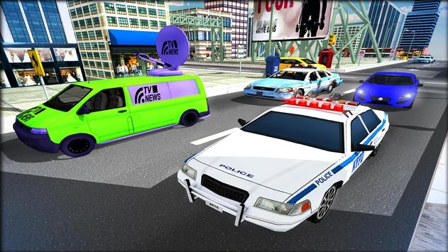 Cop Car Driver 3D Simulator apk screenshot
