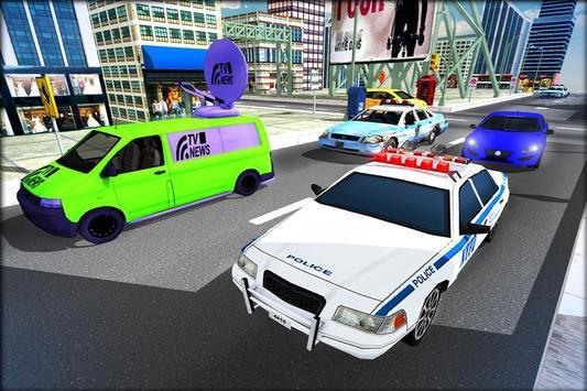 Cop Car Driver 3D Simulator poster