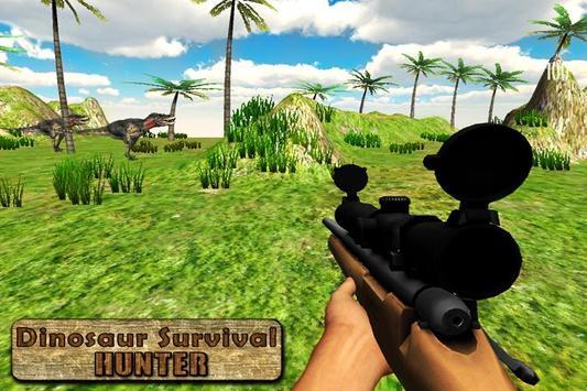 Dinosaur Survival Hunter 3D poster