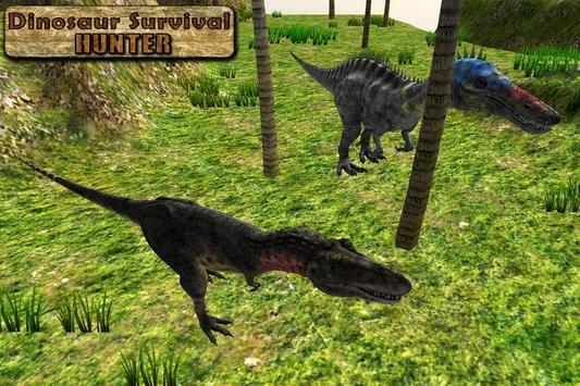 Dinosaur Survival Hunter 3D apk screenshot