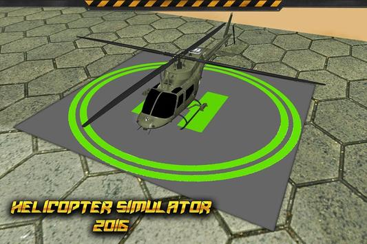 Helicopter Simulator 2016 poster