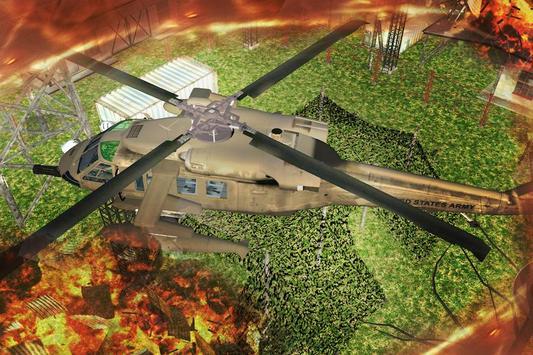 Gunship Helicopter Air Battle screenshot 4
