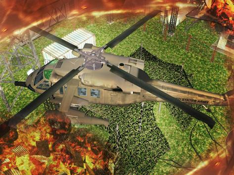 Gunship Helicopter Air Battle screenshot 9