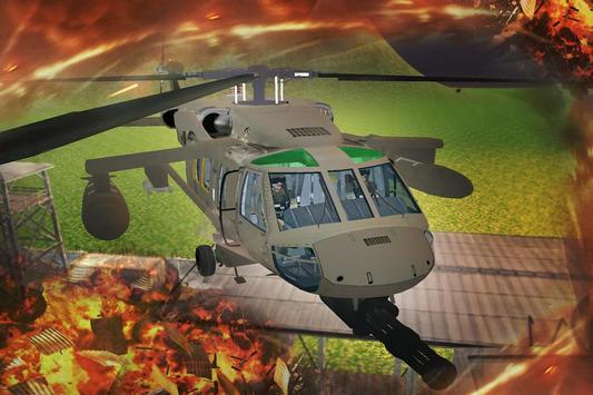 Gunship Helicopter Air Battle poster
