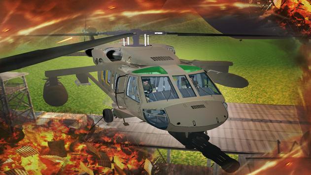 Gunship Helicopter Air Battle screenshot 10