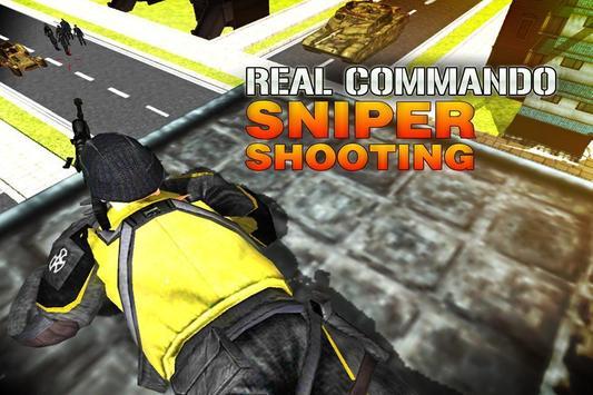 Real Commando Sniper Shooting poster