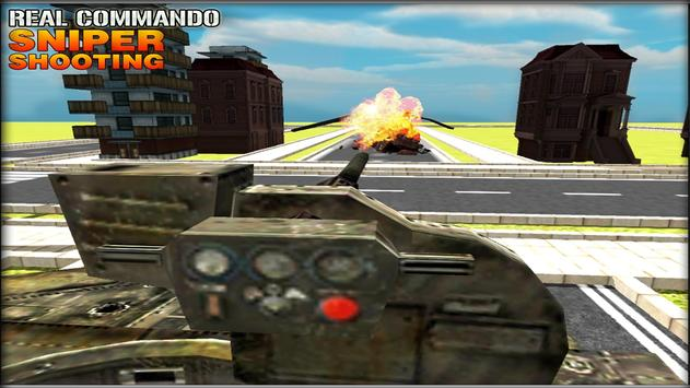 Real Commando Sniper Shooting screenshot 14