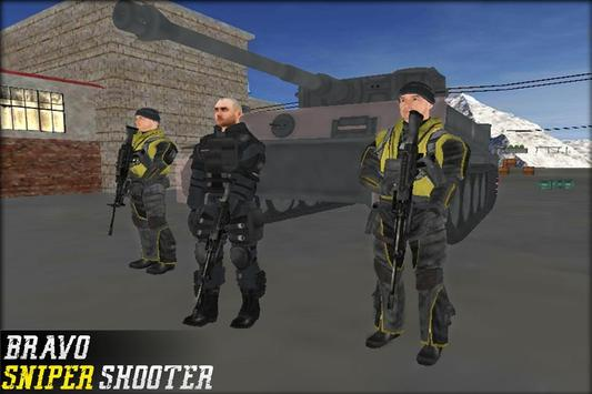 Sniper Fury Bravo Shooter 3D poster