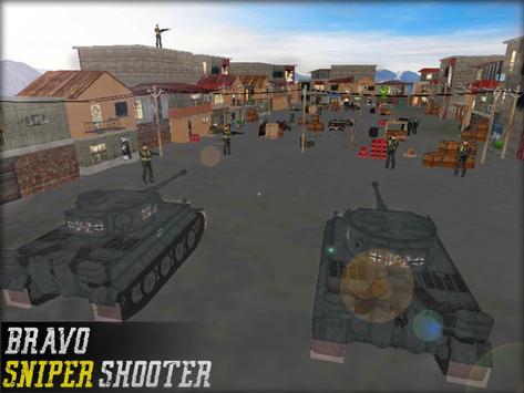 Sniper Fury Bravo Shooter 3D apk screenshot
